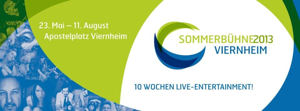 Viernheimer Sommerbühne – 23.06.2013 wir kommen!