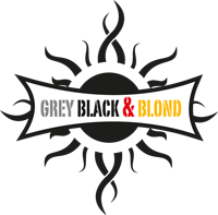 Grey Black & Blond
