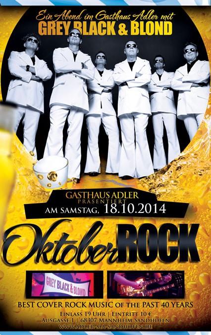 OktoberROCK im Adler Sandhofen