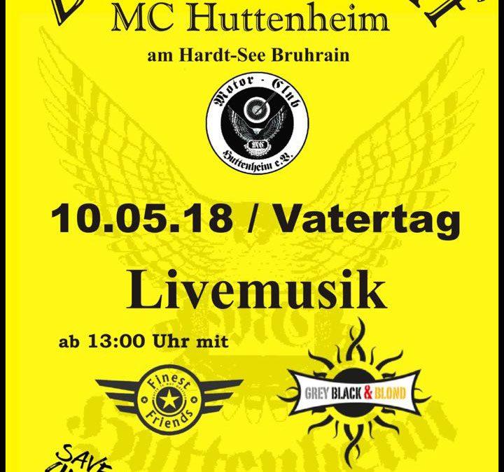 Zweiradtreff MC Huttenheim – Vatertag am 10. Mai